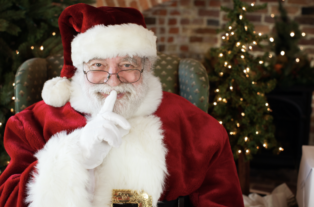 Santa at Sara Harris Photography Studio
